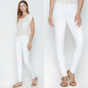 JOIE White Mid-rise Skinny Jeans NWT Size 27